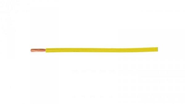 Przewód instalacyjny H05V-K (LgY) 1 żółty /100m/