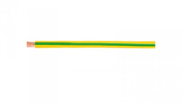 Przewód instalacyjny H07V-K (LgY) 2,5 żółto-zielony /100m/