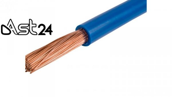 Przewód instalacyjny H07V-K (LgY) 120 niebieski /bębnowy/
