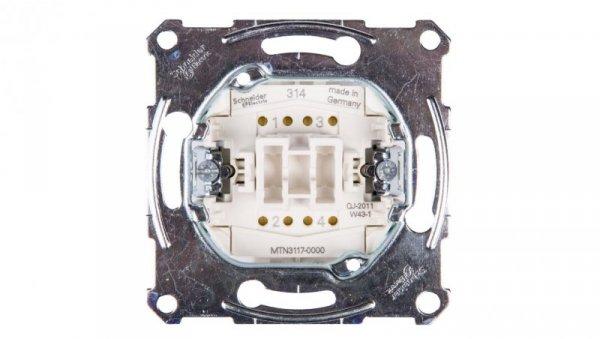 Merten Łącznik krzyżowy 10A 250V IP20 MTN3117-0000