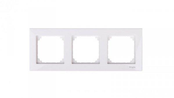 Merten M-Plan Ramka potrójna biel polarna MTN515319