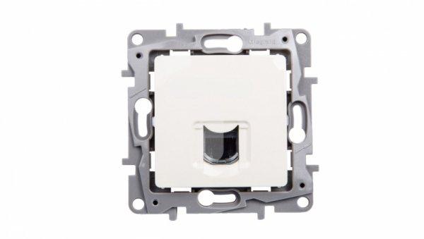 NILOE Gniazdo komputerowe pojedyncze RJ45 kat.6 UTP kremowe 664873