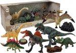 Zestaw figurek Dinozaury 7 sztuk z akcesoriami