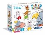 Pierwsze puzzle Disney zwierzęta Clementoni