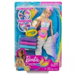 Barbie Dreamtopia Syrenka kolorowa magia