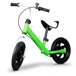 Rowerek biegowy z hamulcem, dzwonek Ecotoys