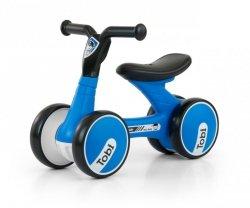 Jeździk rowerek biegowy Tobi Black-Blue Milly Mally
