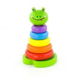 Piramidka edukacyjna - żabka Viga