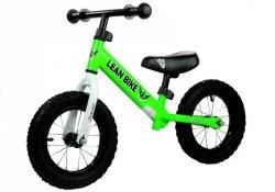 Rower Biegowy Rowerek ROCKY Zielony Pompowane Koła