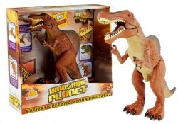 Duży Dinozaur Na Baterie Chodzi Ryczy Tyranozaur