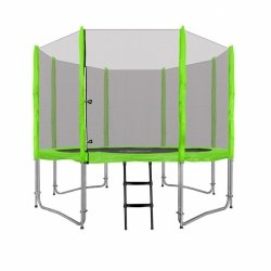 Trampolina Ogrodowa 10FT 305cm Zielona