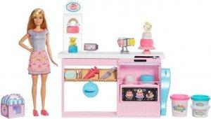 Barbie Pracownia wypieków Barbie Zestaw + Lalka Mattel