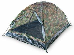 Namiot turystyczny 2os. 200x150 cm moskitiera moro