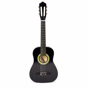 Gitara dla dzieci duża drewniana 6 strun ECOTOYS