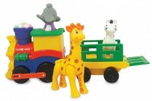 Pociąg Safari ze Zwierzątkami Kiddieland