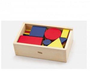 Klocki logiczne - figury geometryczne Viga
