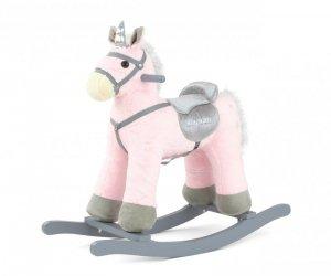 Konik na biegunach PePe Pink Milly Mally