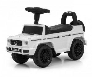 Jeździk pchacz dla dziecka MERCEDES G350d White S Milly Mally