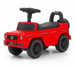 Jeździk pchacz dla dziecka MERCEDES G350d Red S Milly Mally