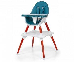 Krzesełko do karmienia 2w1 Malmo Dark Green Milly Mally