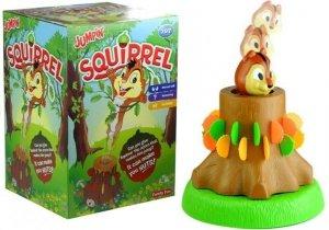 Gra zręcznościowa Skacząca Wiewiórka z żołędziami