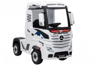 Auto Ciężarówka Tir na Akumulator Mercedes Actros Biały