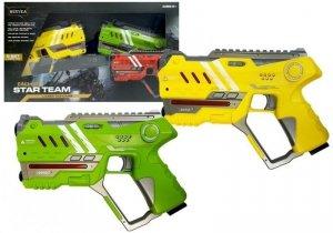Zestaw Pistoletów Laser Tag 4 drużyny 2 kolory