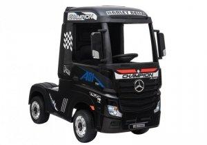 Auto Ciężarówka Tir na Akumulator Mercedes Actros Czarny