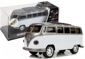 Autobus Resorak z Naciągiem Biały ze światłami i dźwiękiem