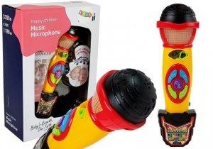 Mikrofon do karaoke nagrywający piosenki