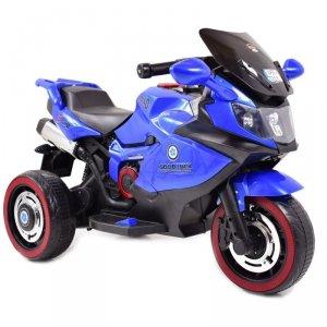Duży motor ścigacz dla dzieci Exclusive, świecące koła