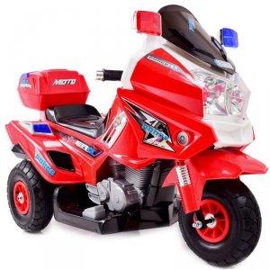 Duży motor na akumulator dla dzieci, pompowane koła, dźwięki