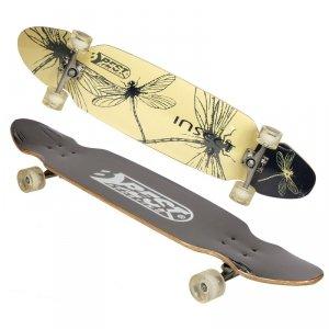 Deskorolka longboard dla dzieci BEST SPORTING INSECT 109x26cm