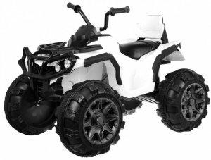 Quad na akumulator dla dzieci ATV Biały