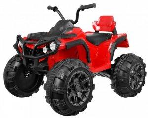 Quad na akumulator dla dzieci ATV Czerwony