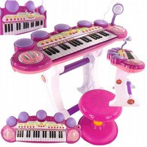 Keyboard organki dla dziewczynki z USB MP3 funkcja nagrywania