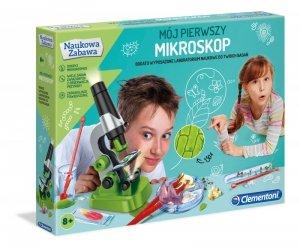 Mój pierwszy mikroskop Clementoni