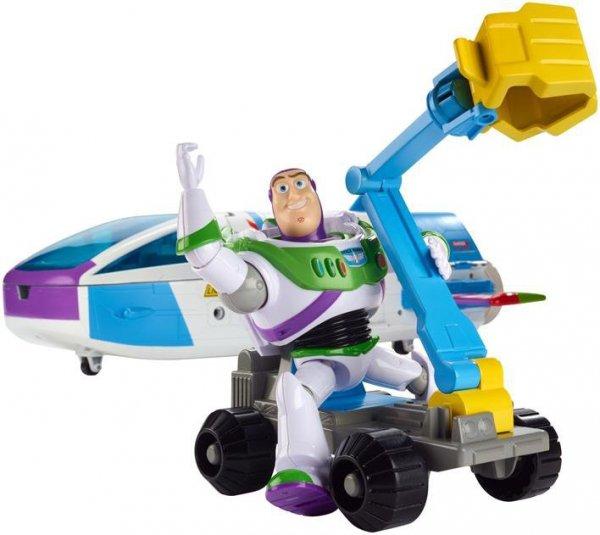 Toy Story 4 Statek kosmiczny Buzza Astrala Zestaw do zabawy + figurka i dodatkowy pojazd