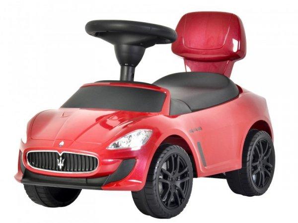 Jeździk pchacz Maserati z efektami dźwięku