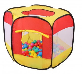 Namiot namiocik suchy basen +100 piłek Ecotoys