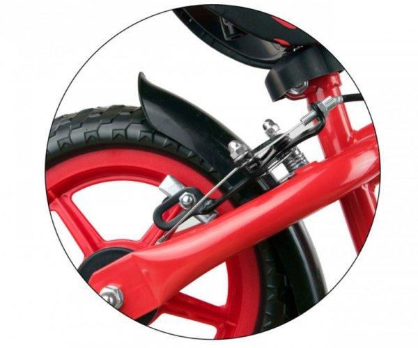 Rowerek biegowy Dragon z hamulcem red Milly Mally
