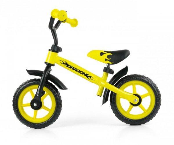 Rowerek Biegowy Dragon yellow Milly Mally