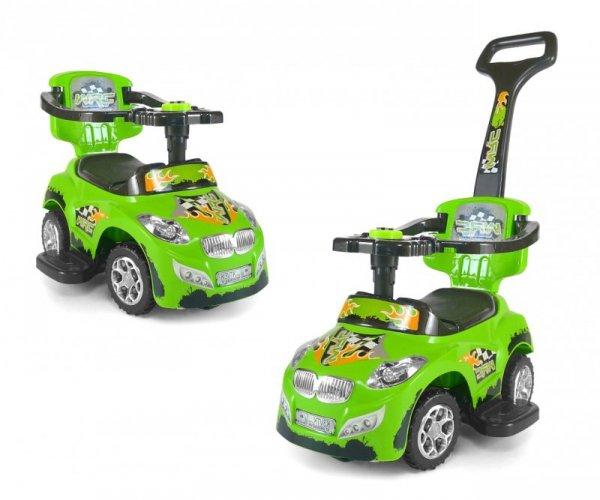 Jeździk 3w1 Pojazd Happy Green Milly Mally
