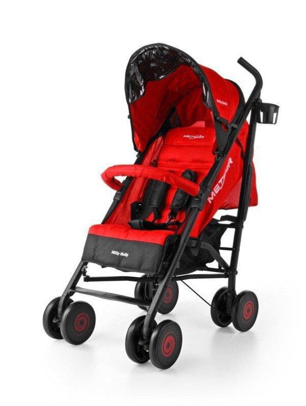 Wózek Meteor Red Milly Mally