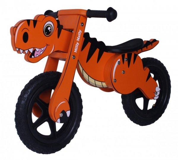 Rowerek Biegowy Dino Orange Milly Mally