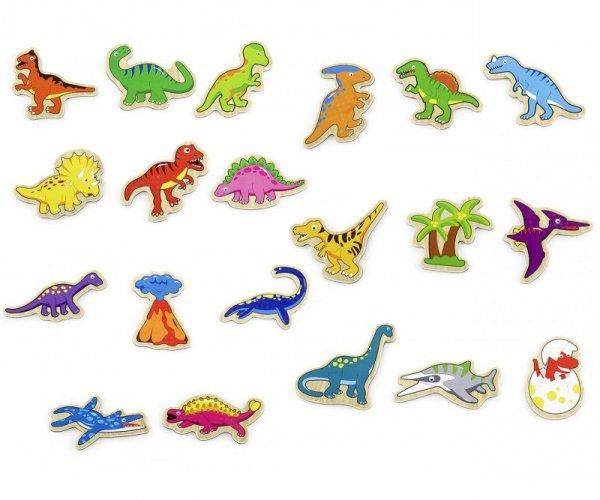 Magnesy dinozaury Viga