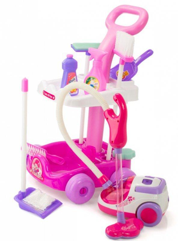 Wózek do sprzątania + odkurzacz