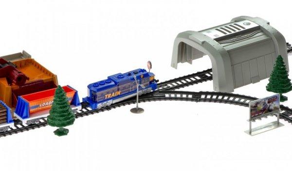 Kolejka Pociąg towarowy - bocznica, tunele 176cm
