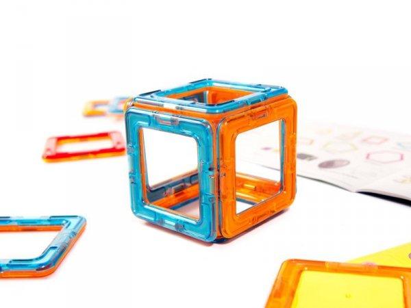 Kolorowe klocki magnetyczne MAGICAL MAGNET 52szt