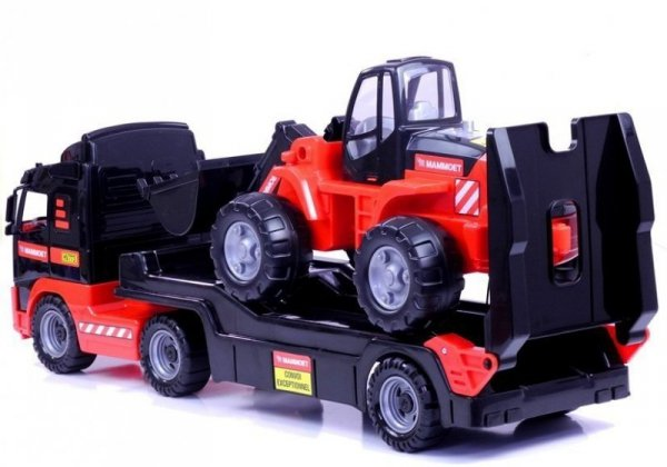 Samochód autko Holownik Traktor MAMMOET Wader Polesie 56733